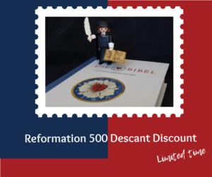 Reformation 500 Discount Graphic